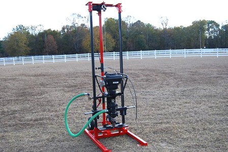 Well drilling rig, portable well drilling rigs, hydraulic drill rigs